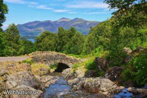 Ashness Bridge, Lake District, Cumbria.