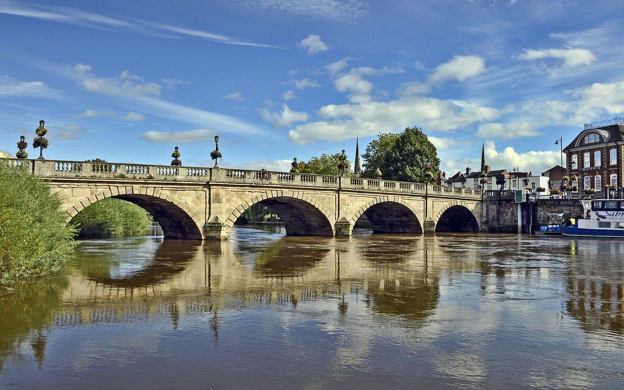 Welsh Bridge, Shrewsbury