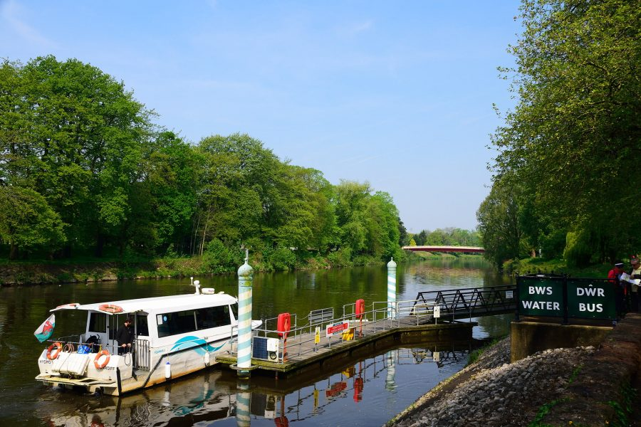 Water Bus, River Taff, Cardiff. Matt Phillips.