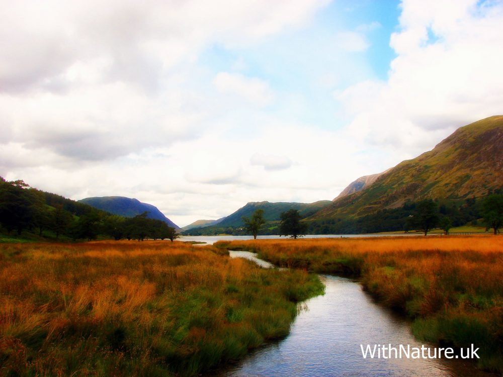 Buttermere in The Lake District, Cumbria, England