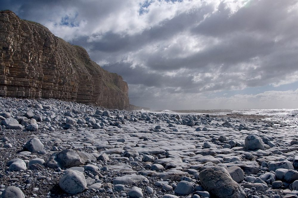 Llantwit Major beach, Glamorgan
