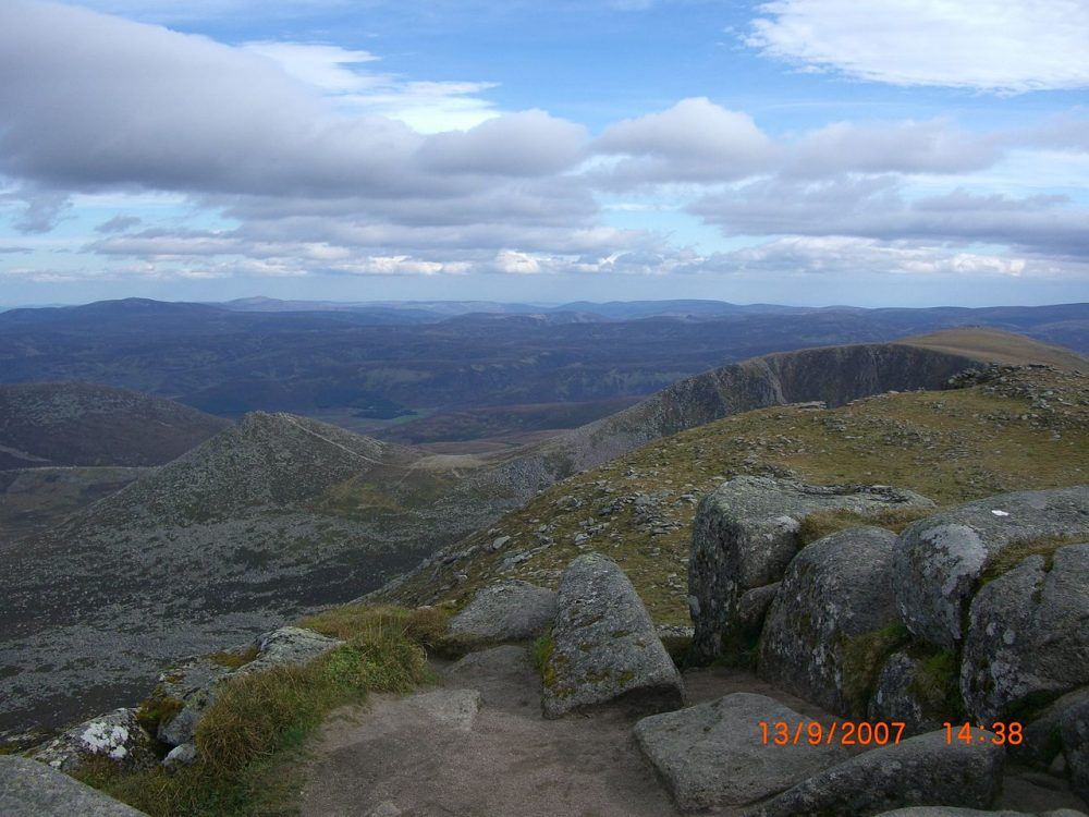 Meikle Pap from Cac Carn Beag