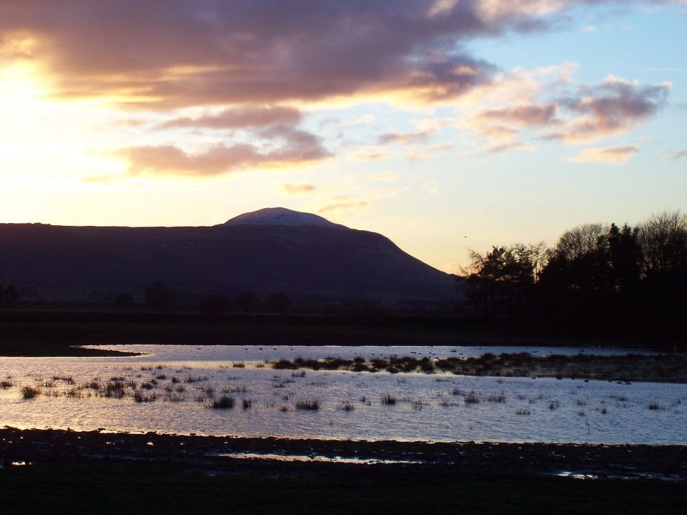 Sunset in the Howe of Fife