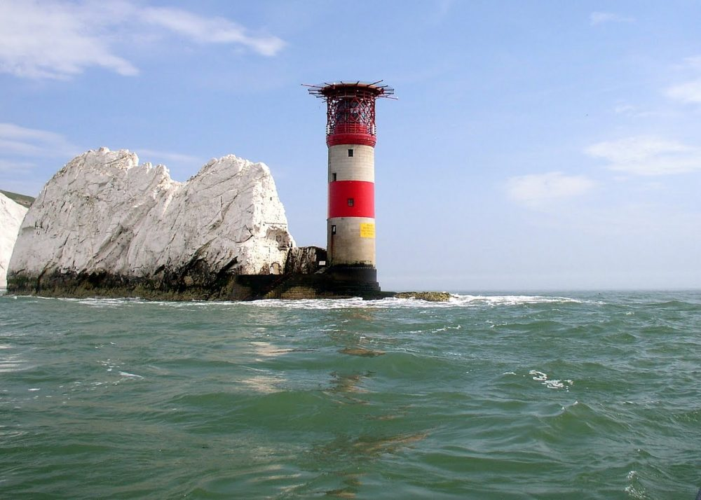 Needles Lighthouse. Sanjib Mitra from FreeImages